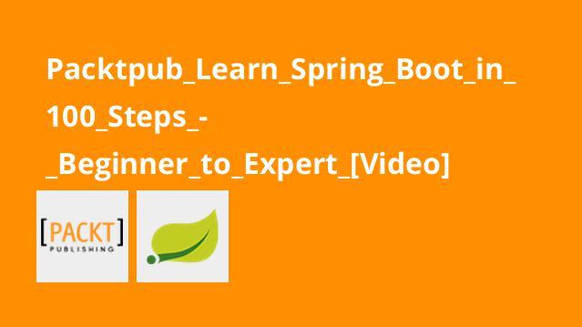 آموزشSpring Boot در 100 مرحله – از مبتدی تا پیشرفته
